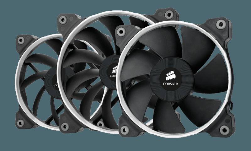 fancorsair - Corsair presenta le nuove ventole per il raffreddamento Air Series