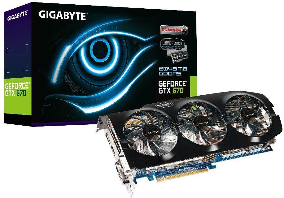 geforcegtx670 gigabyte - Prime immagini e informazioni per la GeForce GTX 670 WindForce 3X
