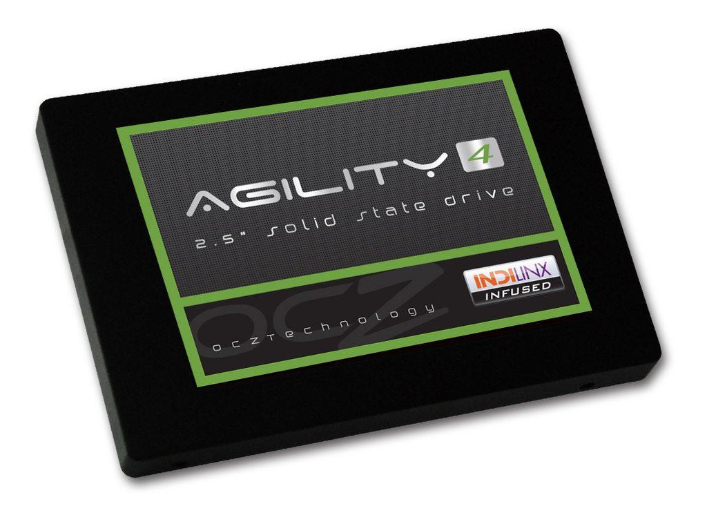 ocz agility4 - OCZ presenta i nuovi hard disk SSD Agility 4