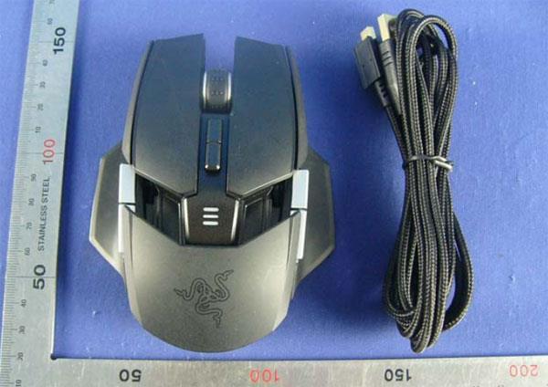 razer Ouroboros - Alcune immagini per il Gaming Mouse Razer Ouroboros