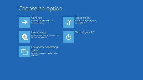 windows8 boot - Nuova modalità di boot per Windows 8? Addio F2 e F8?