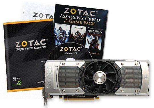 zotac gtx 690 - Zotac annuncia il lancio della GeForce GTX 690. In bundle Assassin's Creed
