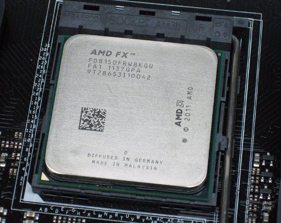 AMD FX 8350 - AMD: nuovi processori Bulldozer in arrivo nel Q3 2012