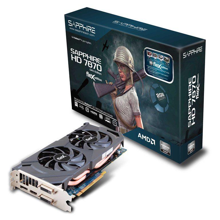 SAPPHIRE HD 7870 FleX PR - Sistema di raffreddamento Dual X per la Sapphire Radeon HD 7870 Flex