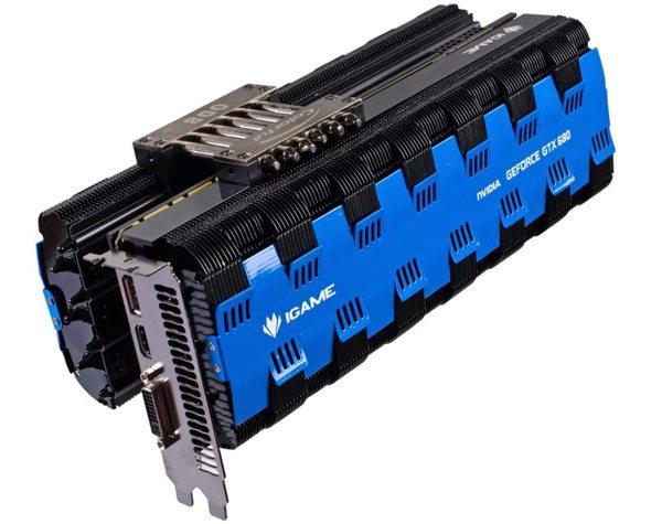 colorful iGame GTX 680 - Colorful presenta una GeForce GTX 680 Fanless
