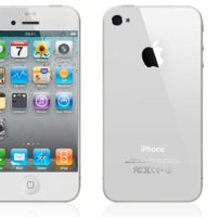 white iphone 5