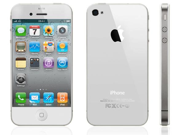 white iphone 5 - Apple: iPhone 5 arriverà a fine Agosto?