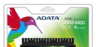 ADATA XPG Gaming DDR3 2400