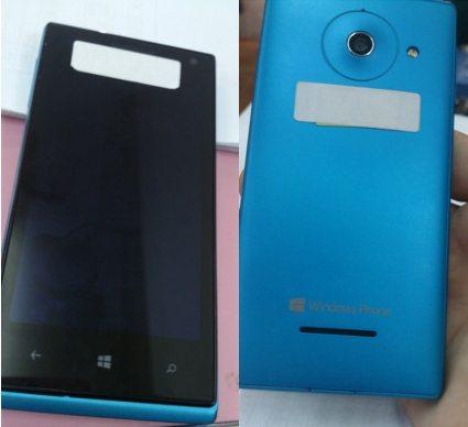 Huawei W1 - Prime immagini per il Huawei W1: smartphone con Windows 8