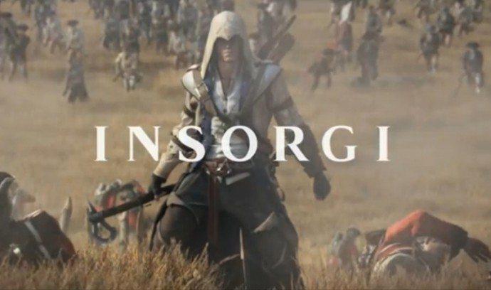 assassins creed 3 insorgi - Assassin's Creed 3: il trailer di lancio italiano