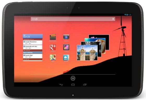nexus 10 - Evento Google: presentato lo smartphone LG Nexus 4 e tablet Nexus 10
