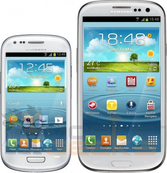samsung galaxy s3 mini vs samsung galaxy s3 - Prezzo e informazioni per il Samsung Galaxy S III Mini
