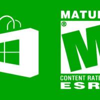 windows 8 store mature content