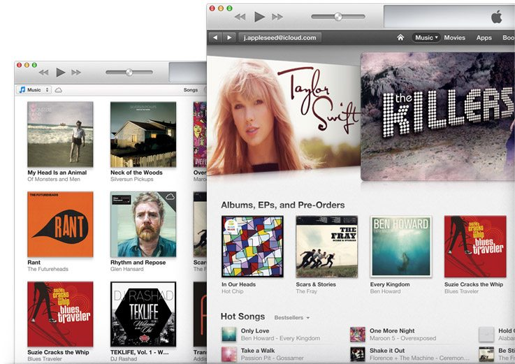 download hero - Apple rilascia iTunes 11: redesign totale e più semplicità di utilizzo