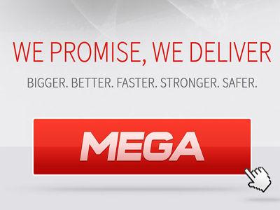 mega - Kim Dotcom torna in pista, MEGA apre i battenti. Già boom di registrazioni