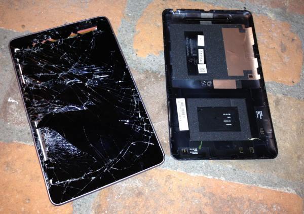 nexus 7 extreme drop test - Drop test estremo per il tablet Nexus 7