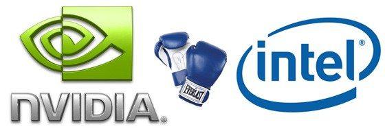 2 18 09 nvidia vs intel - NVIDIA: Intel è interessata all'acquisizione?