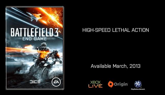 Battlefield 3 End Game Locandina - Primo assaggio di gameplay per Battlefield 3: End Game