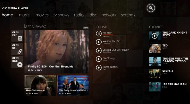 Here s What VLC for Windows 8 May Look Like - Prime immagini per VLC Media Player su Windows 8