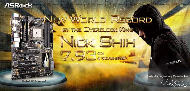 asrock a10 5800k 7.93ghz 01 - Nuovo record per l'APU AMD A10-5800K: sfiora gli 8GHz