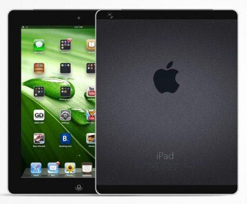 ipad 5 concept - iPad 5 sarà disponibile a Marzo. Ecco le prime indiscrezioni
