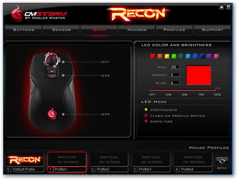 cmstorm recon10