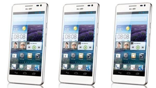 huawei ascend d2 - Ascend Mate e D2, nuovi smartphone Android da Huawei
