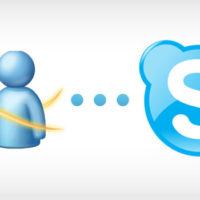 msg to skype