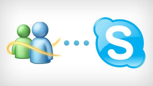 msg to skype - Microsoft annuncia la chiusura di Windows Live Messenger