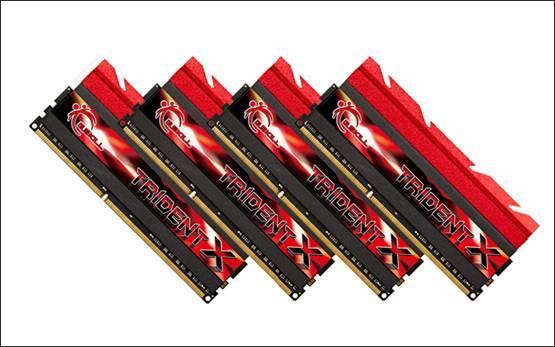 "gskill tridentx - G.SKILL ""Trident X."": il kit da 32GB più veloce al mondo"
