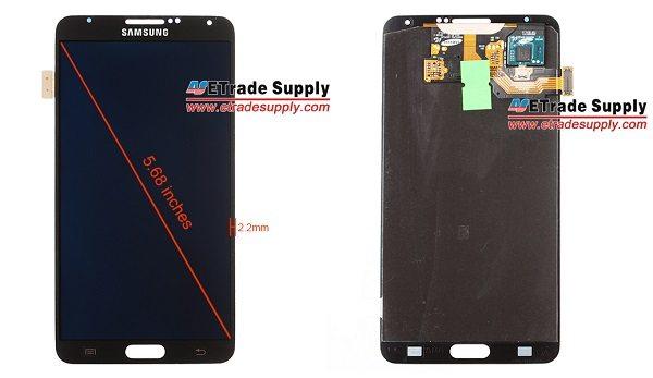 """Galaxy Note 3 - Samsung Galaxy Note III: schermo da 5.68"""" e cornice assente"""