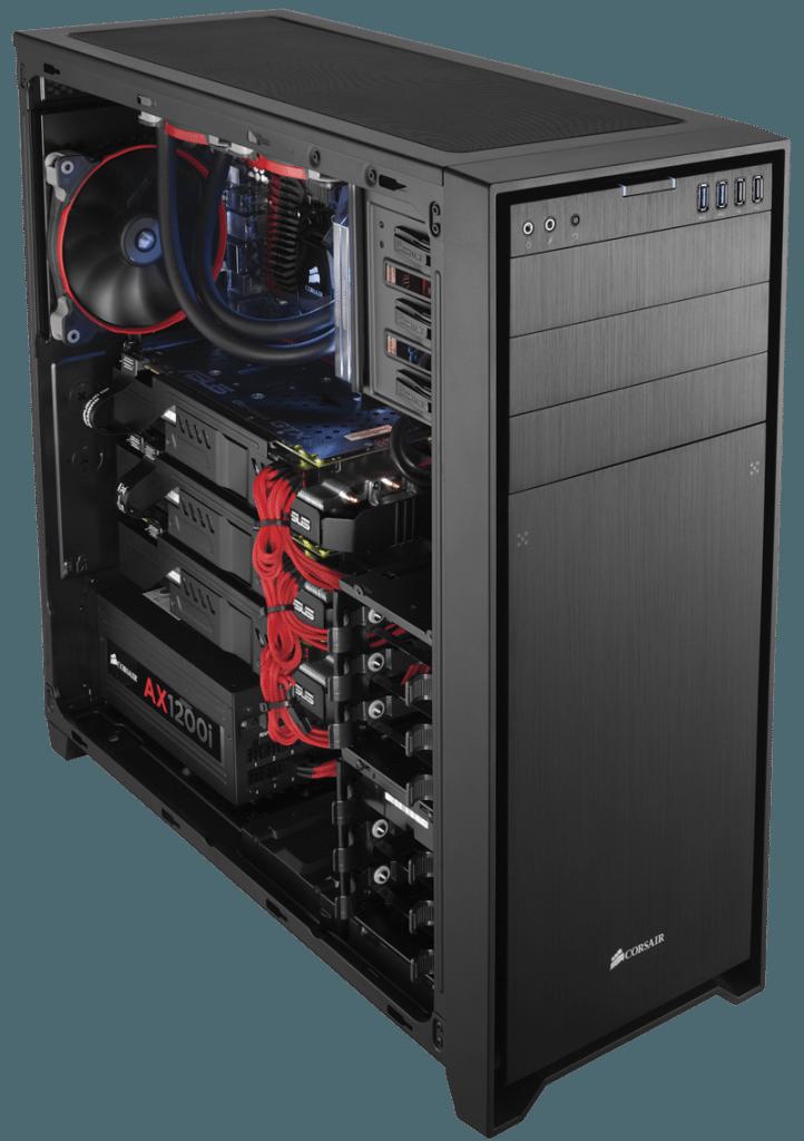 750D BUILT hero low 722x1024 - Corsair annuncia il case per PC full-tower Obsidian Series 750D