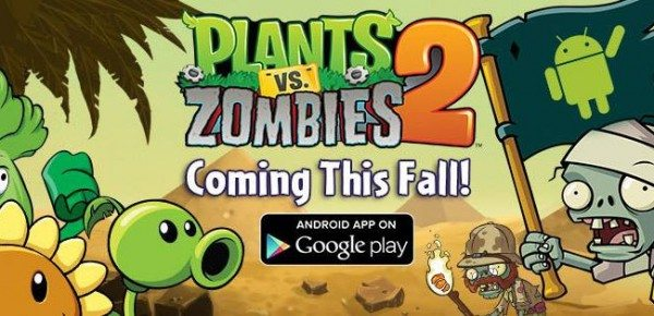 Plants vs. Zombies 600x290 - Plants vs. Zombies 2: PopCap conferma l'arrivo in autunno su Android