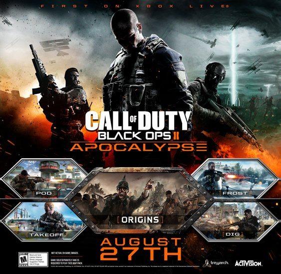 cod black ops 2 apocalypse - DLC Apocalypse di Call of Duty Black Ops II in arrivo su PC e PS3 il 26 Settembre