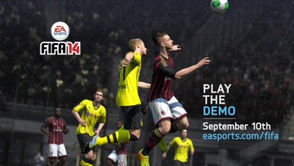 fifa 14 demo 600x338 - FIFA 14: disponibile il link per il download della demo