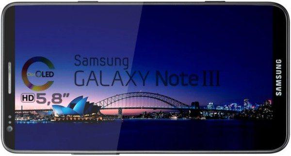 galaxy note 3 600x322 - Galaxy Note 3 confermato: Snapdragon 800 e 2.5GB di memoria