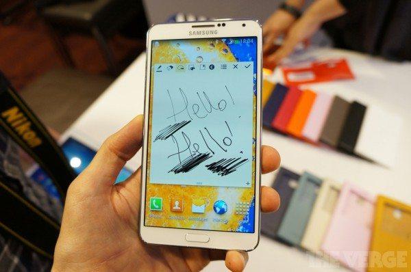 galaxy note 3 official 600x398 - Samsung Galaxy Note: vendute oltre 38 milioni di unità