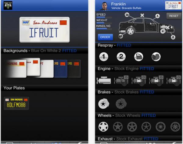 ifruit 600x473 - iFruit: l'applicazione per smartphone di GTA V