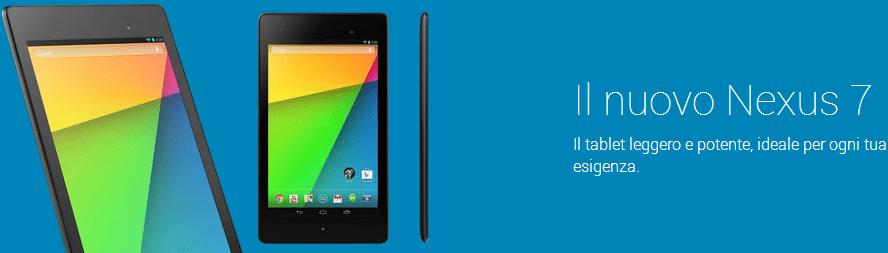 play devices google - Google Play Devices aperto anche in Italia; Nexus 7 a soli 229€