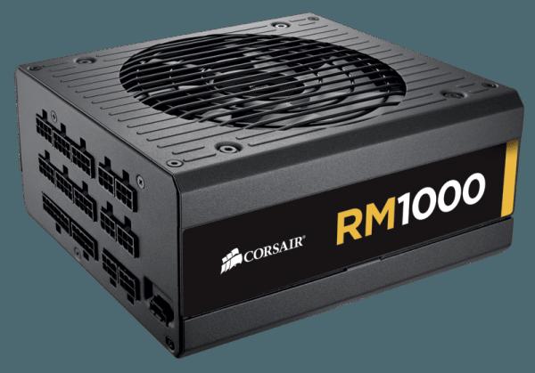 rm1000 sideview a 600x419 - Da Corsair nuovi alimentatori ultra-silenziosi serie RM