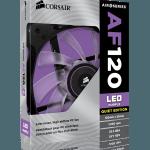 3D BOX AF120 LED purple 150x150 - Corsair annuncia nuove ventole Air Series AF140 LED e AF120 LED