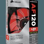3D BOX AF120 LED red 150x150 - Corsair annuncia nuove ventole Air Series AF140 LED e AF120 LED