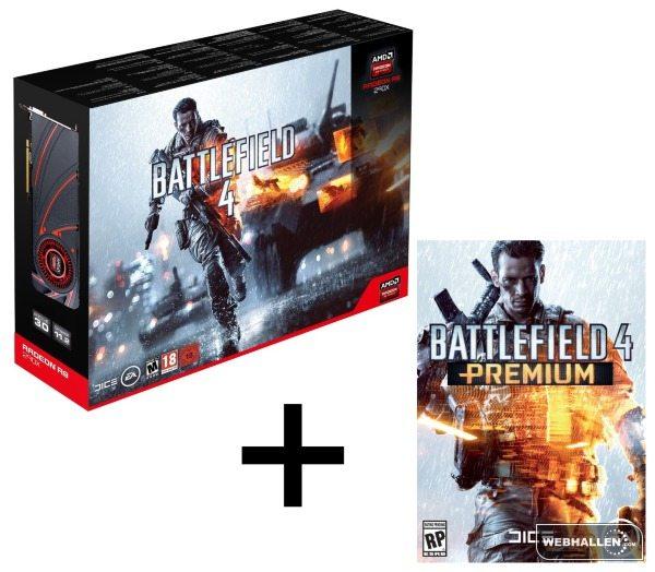 AMD Radeon R9 290X Battlefield 4 Premium - Radeon R9 290X Battlefield 4 Edition disponibile per il pre-order