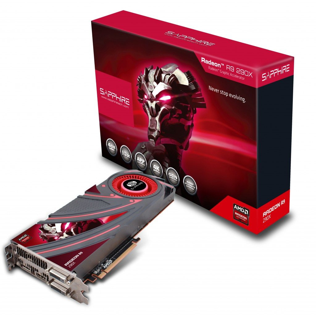 R9 290X 4GBGDDR5 DP HDMI 2DVI PCIE FBC 1024x1022 - Sapphire annuncia il lancio della Radeon R9 290X
