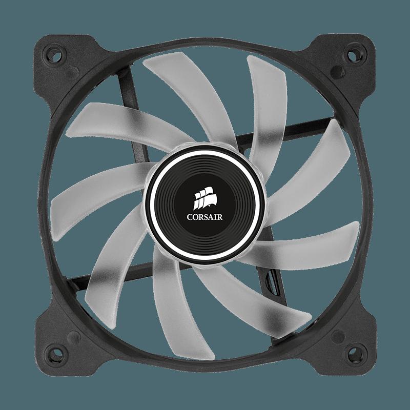 fan AF120 LED unlit front - Corsair annuncia nuove ventole Air Series AF140 LED e AF120 LED