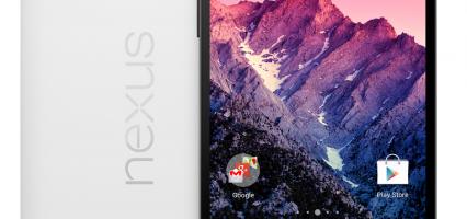 Nexus 5 disponibile sul Play Store; la versione da 16GB a 349€