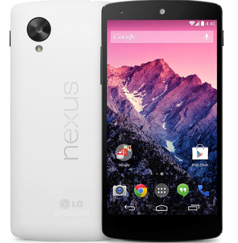 nexus5 - Nexus 5 disponibile sul Play Store; la versione da 16GB a 349€