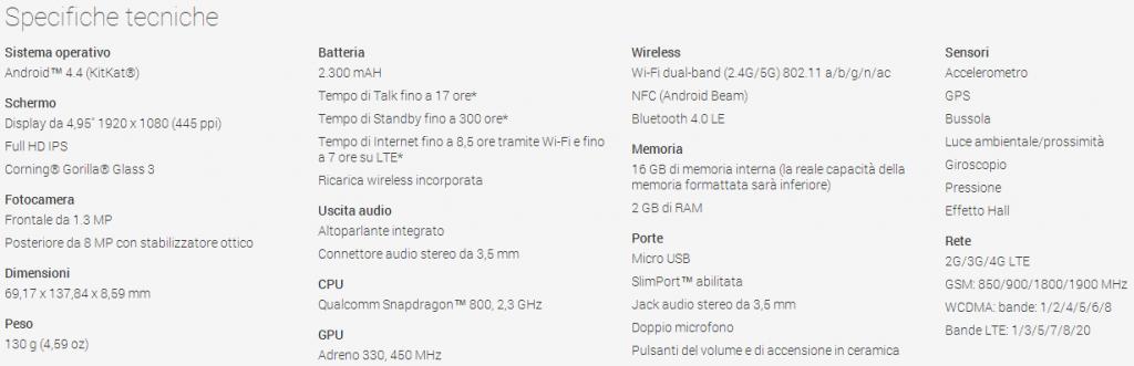 nexus5c 1024x331 - Nexus 5 disponibile sul Play Store; la versione da 16GB a 349€