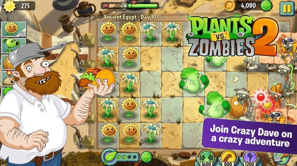 plant 1024x574 - Plants vs Zombies 2 disponibile sul Play Store, ma non ancora in Italia