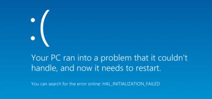 BSOD per Windows RT 8.1: rimosso dal Windows Store